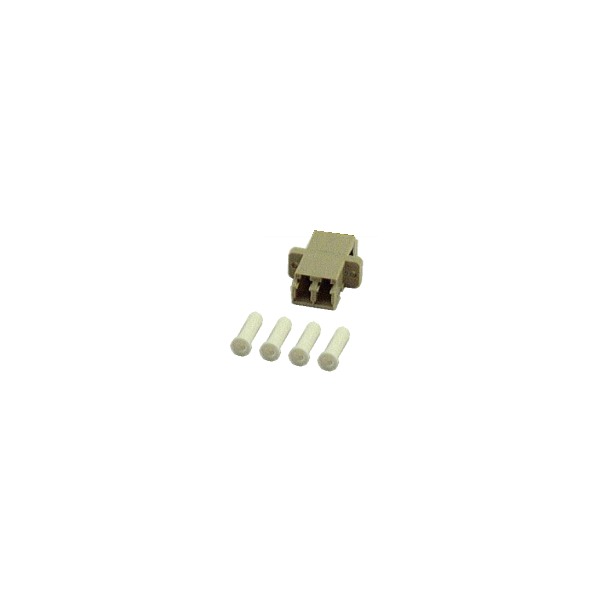 LC Duplex Female to Female Multimode Fiber Optic Coupler