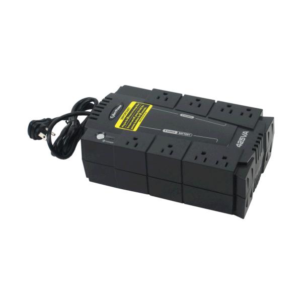 ups backup power supply 425va 255 watts iec