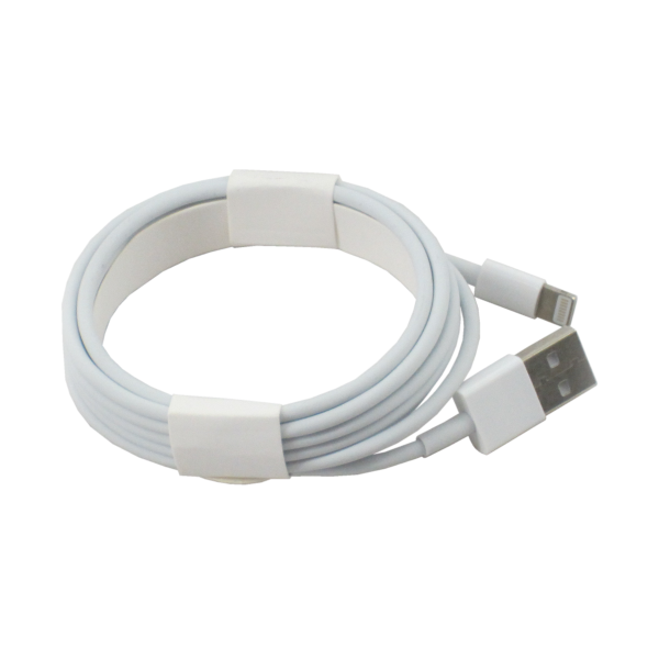 Apple Lightning Charge Sync Cable White Iec