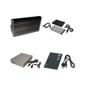 External Drive Enclosures for USB
