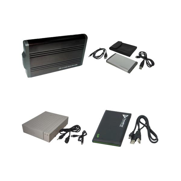 External Drive Enclosures for USB