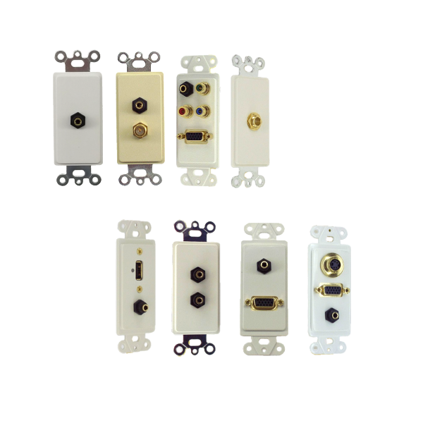 Inserts with Audio 3.5mm & 1/4 Inch Jacks