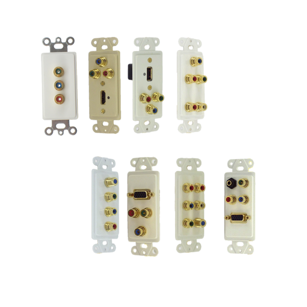 Inserts with RGB Coax (Component)