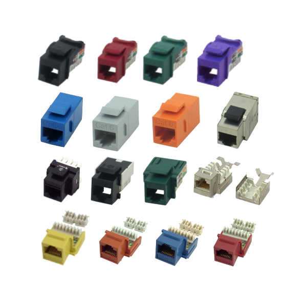 _ Inserts with RJ45 (8 pin, 10 pin)