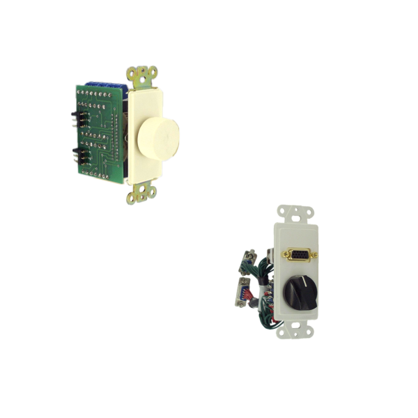 Inserts with Switches & Controls