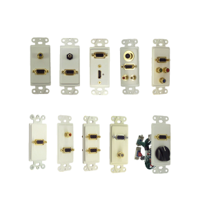 Inserts with VGA (DH15)