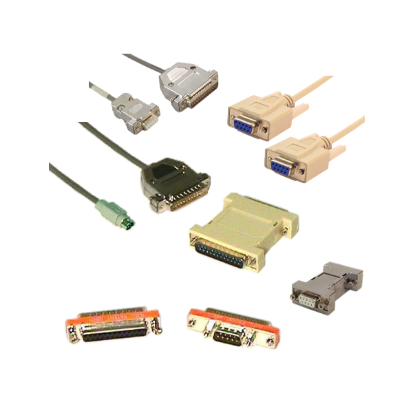 Serial Crossover / Null Modem Cables & Adapters