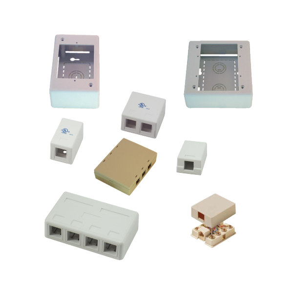 Surface Mount Boxes & Jacks