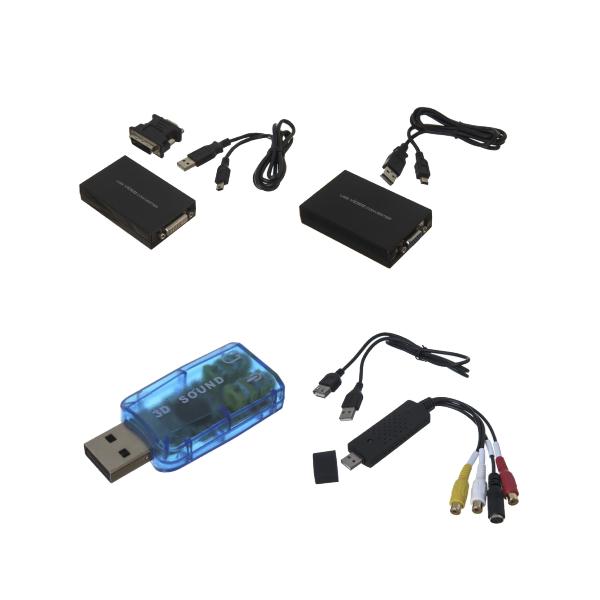 USB Media DIsplay Adapters & Audio Adapters