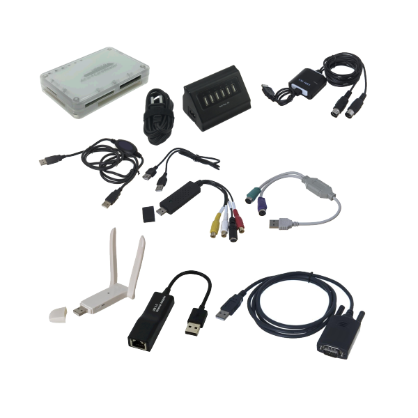 USB Peripherals, Converters & Other USB Accessories