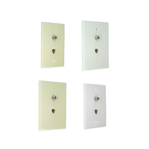 Wall Plates with F100 or CATV
