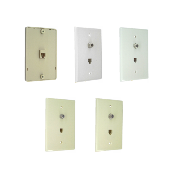 Wall Plates with RJ11 (MP04 & MP06) for Phone