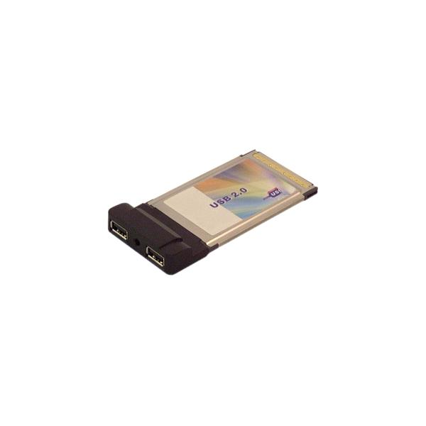 USB Type A 2 Port PCMCIA CardBus Card Supports 20 Economy