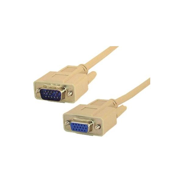 Vga Monitor Extension Cable Male To Female Low Resolution