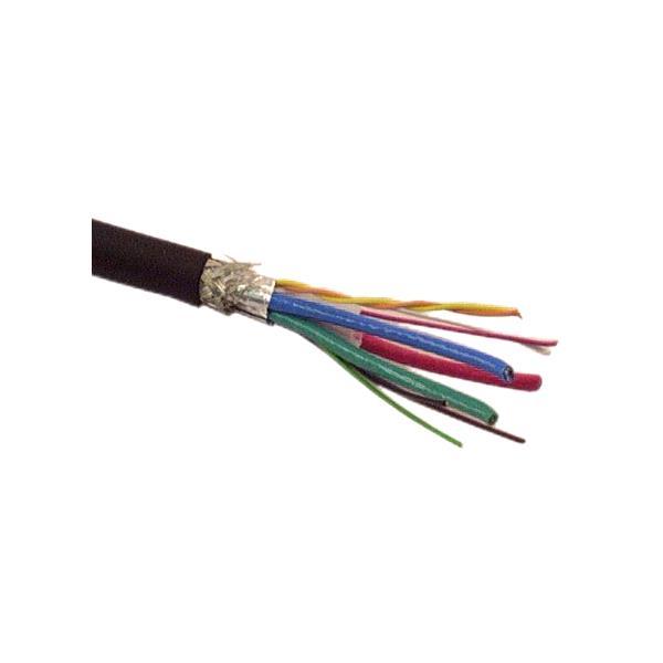 DVI Analog Cable (3 coax, 1 pair, 5 DVI) - IEC
